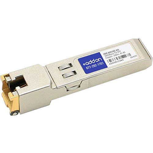 Addon-Networking SFP Mini-GBIC Transceiver Module, RJ-45 (XBR-000190-AO)