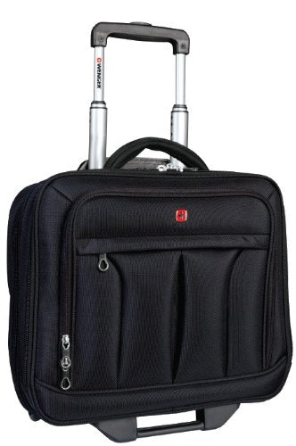 Swiss Gear SWA0565 Wheeled Business Case with Laptop Sleeve (Black)