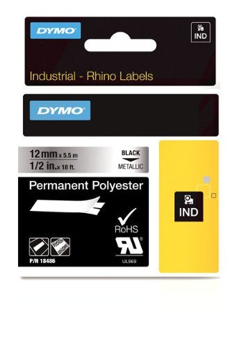 12mm 1/2in Tapes Metallic Permanent Polyester-Rhinopro PRNT