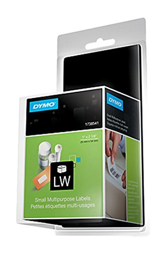 DYMO LW Mailing Address Labels for LabelWriter Label Printers, White, 1-1/8'' x 3-1/2'', 2 Rolls of 260 (30572)