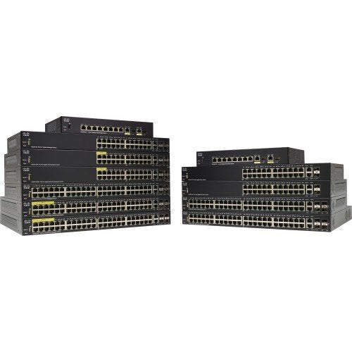 Cisco SF350-08 8-port 10/100 M