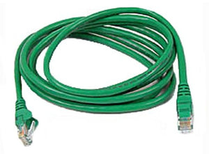 Belkin 5ft 10/100BT RJ45M/RJ45M CAT5E Patch Cable (Green)