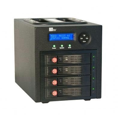 Rtx430-3qr, 4-Bay Raid Subsystem, Usb3esatafw800, 0tb (User Configurable; Accept