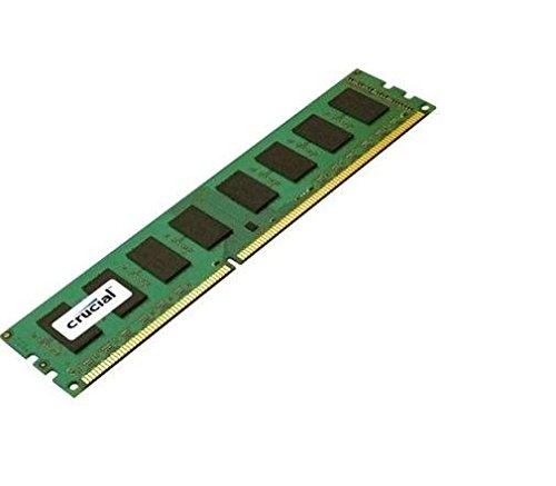 Crucial 4GB Single DDR3 1600 MT/s PC3-12800 CL11 Unbuffered UDIMM 240-Pin Desktop Memory CT51264BA160BJ
