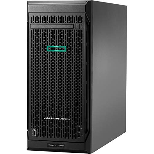 Hewlett Packard Enterprise HPE ProLiant ML110 G10 4.5U Tower Server - 1 x Xeon Bronze 3204-8 GB RAM HDD SSD - Serial ATA/600