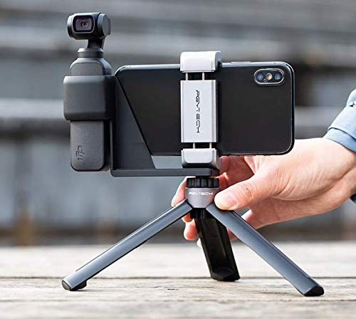 PGYTECH Desktop Tripod Mini for DJI OSMO Pocket/GoPro Series Action Camera with LUCKYBIRD USB Reader