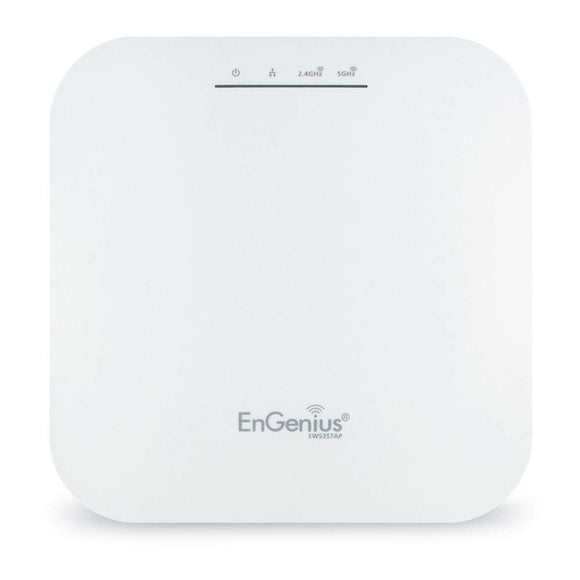 EnGenius EWS357AP Wi-Fi 6 (802.11ax) 2x2, OFDMA, MU-MIMO, Managed Indoor Wireless Access Point