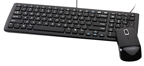 Viewsonic Keyboard & Mouse Set - English, Black (VMP10B_KM1US05)