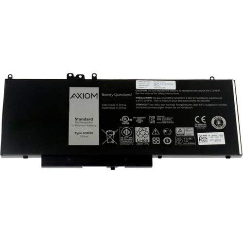AXIOM Memory - LI-ION 4-Cell Battery for DELL E5270, E5470, E5570 OEM # 451-BBUN