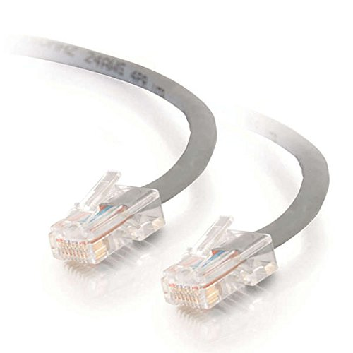 C2G 24490 Cat5e Crossover Cable - Non-Booted Unshielded Network Patch Cable, Gray (3 Feet, 0.91 Meters)