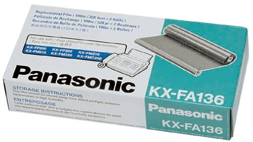 Panasonic PANKXFA136 Film Roll Refill- 330 Page Yield