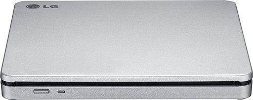 Open Box LG AP70NS50 8x DVDRW DL USB 2.0 Slim External SuperMulti Blade Drive - Silver