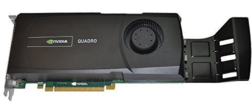 Pre-owned 2.5GB Dell nVIDIA Quadro 5000 GDDR5 DVI-I 2 X Displayport TV-Out PCI Express Graphics Card Ymykm Consumer Electronics