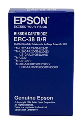 Epson Color Cartridge -Black,Red -Dot Matrix -1 Each -Retail