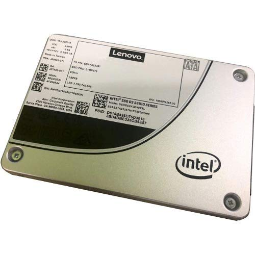 Thinksystem 3.5In Intel S4610 480Gb Mainstream Sata 6Gb Hot Swap Ssd