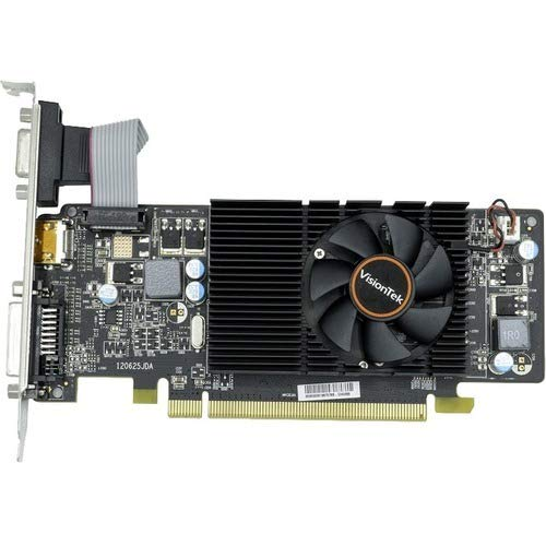 VisionTek Radeon HD 6570 Graphic Card - 650 MHz Core - 2 GB DDR3 SDRAM - Full-Height - 128 bit Bus Width - Fan Cooler - DirectX 11.0-1 x HDMI - 1 x VGA - 1 x Total Number of DVI (1 x DVI-D) - Dual L