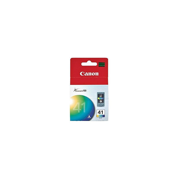 Canon CL-41 0617B002 Pixma iP1200 1300 1700 1900 6210 MP140 190 220 MX300 MX310 Pixus iP2500 MP170 460 Ink Cartridge (Tri Color) in Retail Packaging