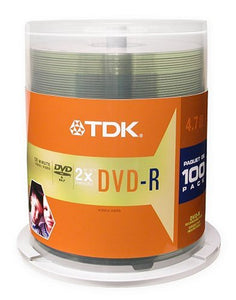 Imation 48520 Dvd-R Discs, 4.7Gb, 16X, Spindle, 100/Pack