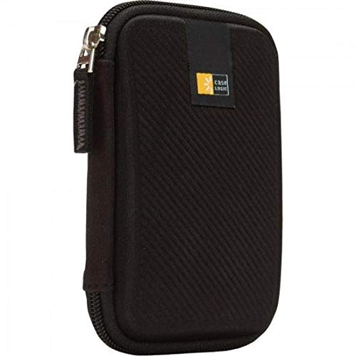 Case Logic Portable Hard Drive Case - Black - EHDC-101