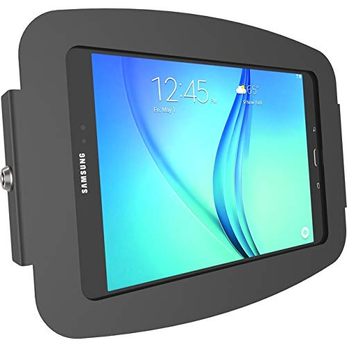 Compulocks 105Ageb Space Enclosure Wall Mount for Galaxy Tab A 10.5, Black