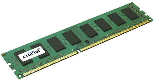 Crucial 8GB Single DDR3L 1600 MT/s (PC3-12800) DR x8 RDIMM 240-Pin Server Memory CT8G3ERSLD8160B