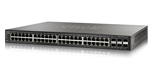 Cisco SG250X-48P Gigabit PoE with 4-Port 10-Gigabit Smart Switch