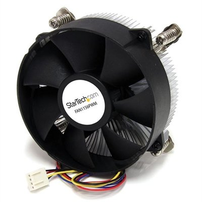 StarTech.com 95mm CPU Cooler Fan with Heatsink for Socket LGA1156/1155 with PWM - 1 x 95mm - 3000rpm Lubricate Bearing