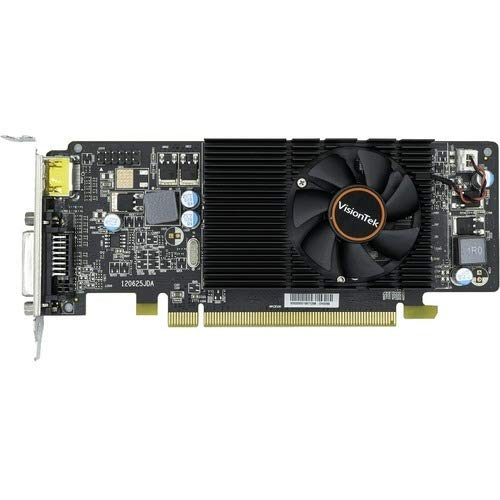 VisionTek Radeon HD 6570 Graphic Card - 650 MHz Core - 2 GB DDR3 SDRAM - 128 bit Bus Width - Fan Cooler - DirectX 11.0-1 x HDMI - 1 x Total Number of DVI (1 x DVI-D) - Dual Link DVI Supported - PC -
