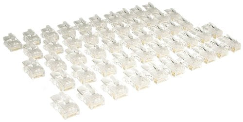 Tripp Lite N031-050 Cat5e RJ45 Modular Connector, Stranded, 50 Pack