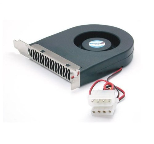 StarTech.com Replacement 70mm TX3 Dual Ball Bearing CPU Cooler Fan FAN7X10TX3 (Black)
