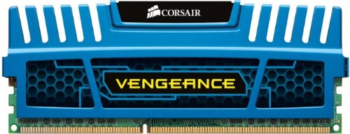 8gb Kit 2x4gb 1600mhz Ddr3 Cl9 Vengeance Blu F/Intel & AMD Dual Ch