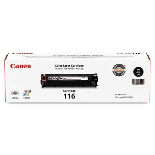 Canon Original 116 Toner Cartridge - Black