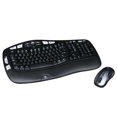 Refurbished Logitech MK550 Keyboard & Mouse - USB Wireless Keyboard - USB Wireless Mouse - Laser