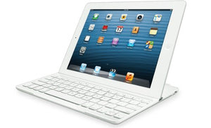 Refurbished Logitech Ultrathin Keyboard Cover White for iPad 2 and iPad (3rd/4th generation)