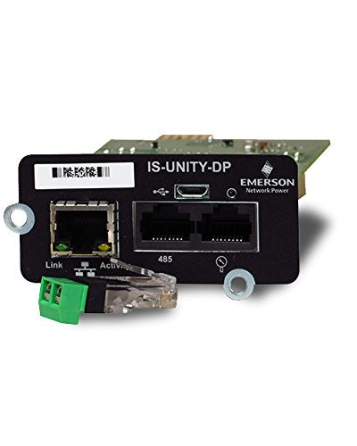Liebert is-Unity-DP Intellislot Unity Card, Remote Management Adapter