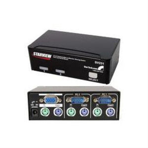 StarTech.com 2 Port Professional PS/2 KVM Switch