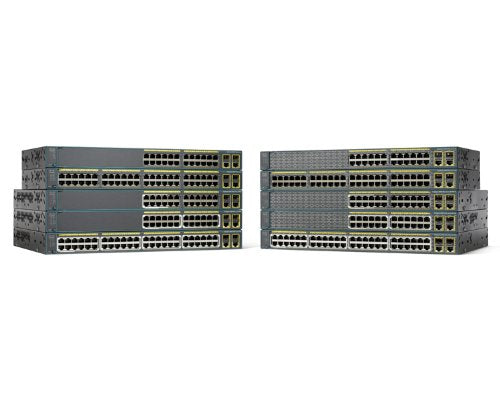 Cisco Catalyst 2960 Plus 24 Port Switch (WS-C2960+24TC-S)
