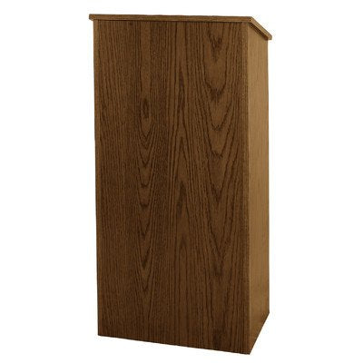 AmpliVox W280 - Full Height Wood Lectern - 46.5