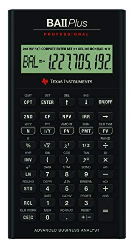 Open box BA II Plus Professional Financial Calculator