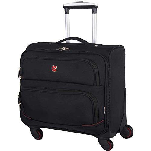 Swiss Gear SWA5176 15-Inch Wheeled Business Laptop Case - Black