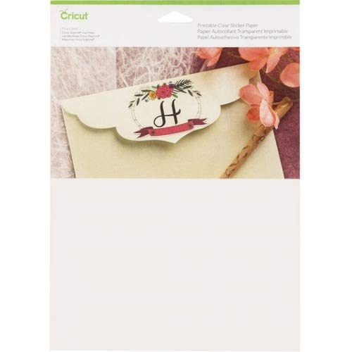 Cricut Printable Adhesive Paper - Letter - 8 1/2