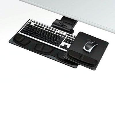 FELLOWES PROFESSIONAL SERIES EXECUTIVE KEYBOARD TRAY. DESIGNED AND MANUFACTURED