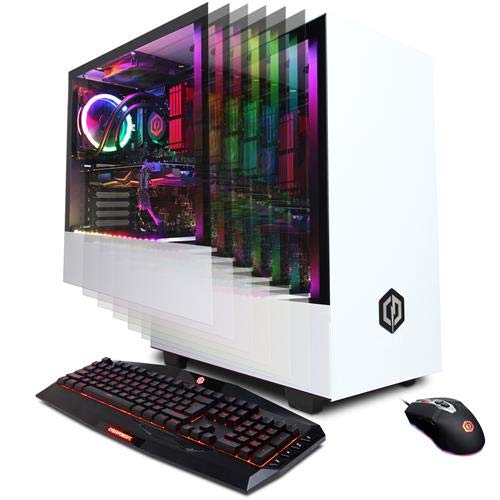CyberpowerPC Gamer Supreme Liquid Cool Gaming Desktop Computer, AMD Ryzen 9 3900X 3.8GHz, 32GB RAM, 1TB SSD, NVIDIA GeForce RTX 2080 Super 8GB, Windows 10 Home