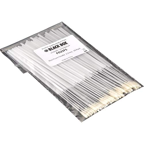 Black Box Corporation 2.5-MM 50-Pack Mini Foam Swab