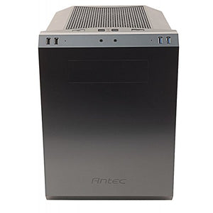 Antec Performance Series P50 Window R Mid-Tower Silent PC Computer Case with 240mm Water Cooling, USB 3.0/2.0 Ports, 80mm/120mm Fans Pre-Installed and 6 Drive Bays for Micro ATX and Mini-ITX