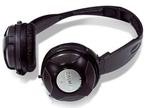 Zalman ZM-DS4F BLACK Dual Stereo Headphones 2 Way 4 Speaker System