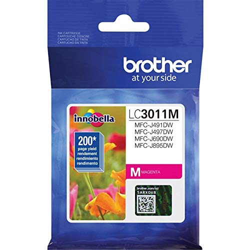 BROTHER - Compatible with: MFCJ491DW, MFC690DW (200 Pages - approximate Page yields in Acc