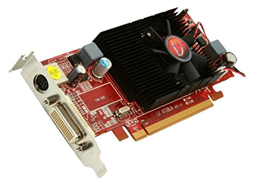 VisionTek Radeon 4350 SFF 512MB DDR2 (2X DVI-I, TV Out) with 2X DVI-I to VGA Adapter Graphics Card - 900273