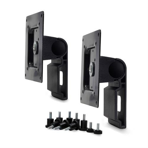 Ergotron 98-062-200 Dual Monitor Tilt Pivot Kit in Black for Monitors Equal or Less Than 11 lbs