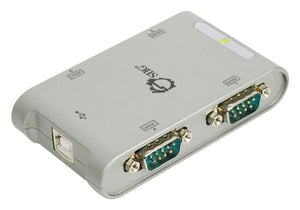 SIIG USB to RS-232 Serial Adapter Hub (JU-SC0211-S1)